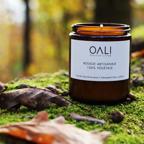 Bougie parfumée artisanale OALi
