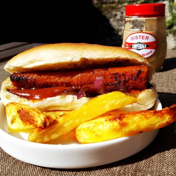 atelier cuisine vegan hot dog