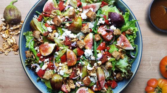 Recette Salade de figues