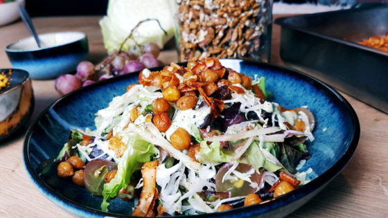 Salade césar veggie