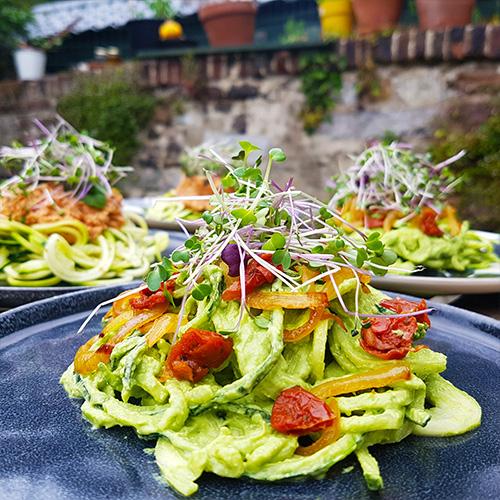 Spaghetti de courgette