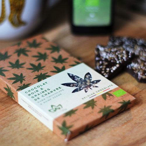 Chocolat aux graines de chanvre Cannavie