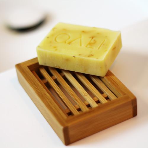 Porte savon naturel en Bambou