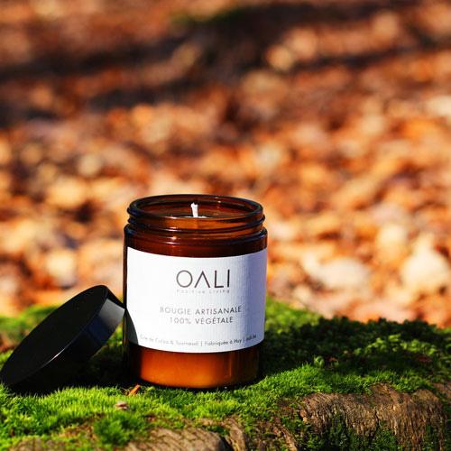 Bougie parfumée OALI